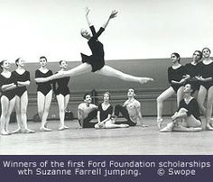 Ballet photograpgy from 1961
