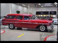 1958 Chevy Yeoman station wagon