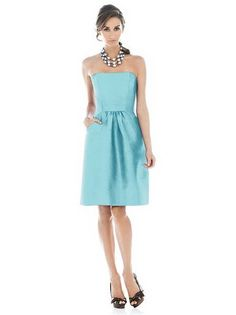 Aquamarine bridesmaid dresses Review » OneBoard