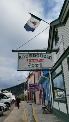 Sourdough Joes Dawson City