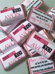 Make your business memorable! Who needs customized marketing candies? These are fantastic for your parties, vendor events, or as a promotional items. Could something this simple impact your business? #candy #promo #smallbusiness #wedding