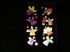 Adventsfenster im Kindergarten Albert Einstein Quotes, Birthday Candles, Kindergarten, Cards, Advent Calendar, School, Weihnachten, Craft, Store Displays