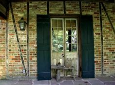 A. Hays Town Honeymoon, or College cottage. (for his grandchildren)  One of the two front french doors.  I stayed in this cottage with his granddaughter...........beautiful and so is his home..........