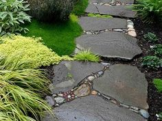 29 Easy Garden Path Plans You Can Build To Accent Your Backyard Landscaping Supplies, Backyard Landscaping, Landscaping Ideas, Backyard Ideas, Path Design, Landscape Design, Design Ideas, Design Inspiration, Stepping Stone Walkways