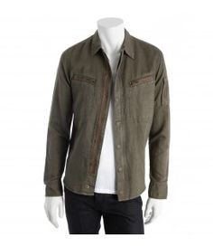 Military Spirit Overshirt with Embroidery, Zadig Et Voltaire