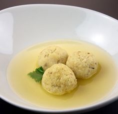 yum, matzah ball soup