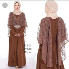 Dress Brokat Muslim, Dress Brokat Modern, Kebaya Modern Dress, Kebaya Dress, Dress Pesta, Muslim Dress, Dress Brukat, Hijab Dress Party, Batik Dress