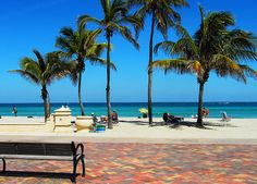 Broadwalk (Hollywood, Florida) Home again, at least for a little while Miss Florida, Florida Travel, Florida Beaches, South Florida, Florida 2017, Vacation Spots, Vacation Destinations, Vacation Ideas, Vacations