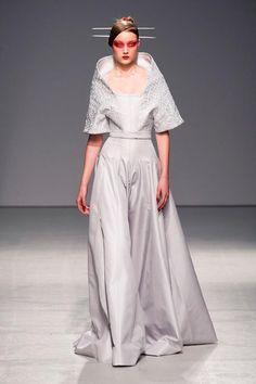 Cool Chic Style Fashion: Runway & Detailed photos of Gareth Pugh Spring / Summer 2013