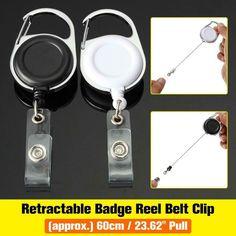 I LOVE JESUS Retractable Reel ID Badge Key Card Name Tag Holders Belt Clip