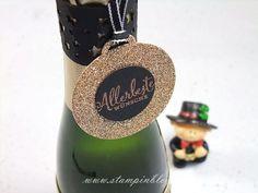 Sylvester-Sylvesterparty-Sektflasche-Flasche-Glitzer-verpacken-Geschenk-Stampinblog-Stampin