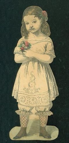 """McLoughlin Paper Doll 6"""" Two Sided Susie's Pet w 3 Costume 1858   eBay"""