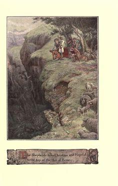 The pilgrim's progress The Pilgrim's Progress, John Bunyan, English Artists, Creative Artwork, Camping With Kids, Golden Age, Illustrators, Sculptures, Drawings