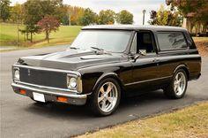 1971 CHEVROLET BLAZER CUSTOM SUV - Barrett-Jackson Auction Company