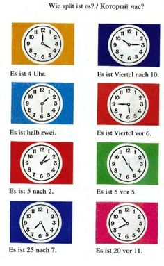 Wie spät ist es Study German, Learn German, Learn French, German Grammar, German Words, German Language Learning, Learn A New Language, English Language, Teaching French