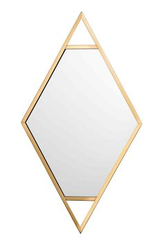 Miroir avec cadre en métal - Doré - Home All | H&M FR