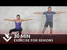 30 Minute Exercise for Seniors, Elderly, & Older People - HASfit - Free Full Length Workout Videos and Fitness Programs - Senior fitness - Activities Of Daily Living, Spring Activities, Physical Activities, Outdoor Activities, Chair Exercises, Stretching Exercises, Exercises For Seniors, Stretching For Seniors, Senior Fitness