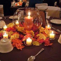 autumn wedding table decorations   need fall head table ideas ...