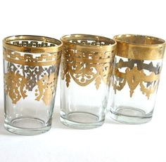 Moroccan tea glasses