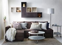 Don't let the gorgeous design of your living room FRIHETEN you. Get comfortable!