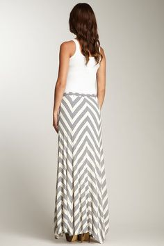 Chevron Maxi Skirt on HauteLook