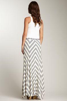 Chevron Maxi Skirt on HauteLook