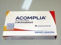 Mit Acomplia nehmen, nur eine Tablette am Tag Sie gehen weg schritt in einer dünnen und gesundes Leben.