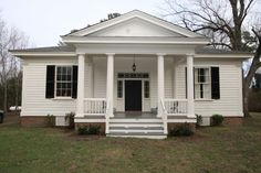 Historic Properties for Sale - Historic Greek Revival Cottage - Price Reduced! - North Carolina