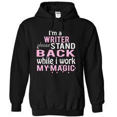 WRITER magic T Shirts, Hoodies. Check Price ==► https://www.sunfrog.com/Funny/WRITER--magic-5867-Black-4048982-Hoodie.html?41382