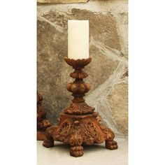OrlandiStatuary Baroque Outdoor Candleholder Ornament Statue $41