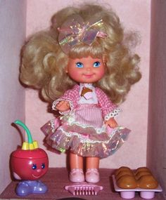 Cherry Merry Muffin Dolls Toys 1990's 1980's