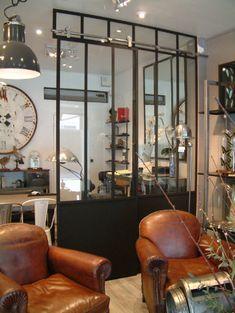 Style industriel ambiance chic et choc. At our showroom - Verrières-d'intérieur - Ghislain