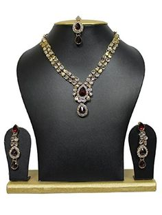 VVS Jewellers Red Stone Ethnic Indian Bollywood Kundan Go... https://www.amazon.com/dp/B0747KXJ9T/ref=cm_sw_r_pi_dp_U_x_PWoJAbV6ZRY9Q
