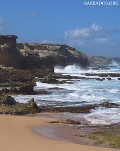 In addition to beautiful tropical beaches, #Barbados is home to a number of intriguing coastal features. Learn about them at http://barbados.org/barbados-beaches-coastal.htm