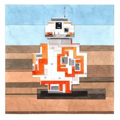 New '8-Bit' Paintings Inspired by Famous Artworks and Pop Culture Icons by Adam Lister