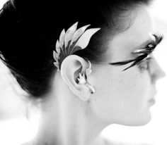 The Duncan Stevens Ear Cuff is a Stunning Piece of Jewelry #feathers #fashion trendhunter.com