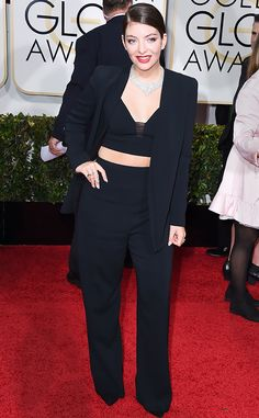 What Does Lorde Do with Her Outfit After an Awards Show?  #InStyle