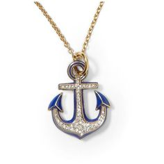 Juicy Couture Knots & Anchors Anchor Necklace ❤ liked on Polyvore featuring jewelry, necklaces, accessories, colares, bijoux, knot pendant necklace, knot jewelry, knot necklace, anchor jewelry and anchor necklace