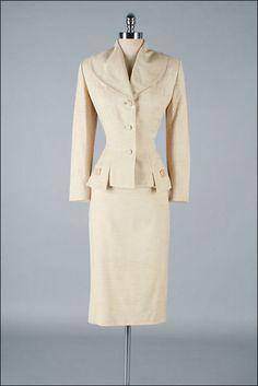 Vintage 1950s Suit LILLI ANN 2pc Set 3113 by millstreetvintage