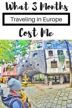 Are you planning on traveling in Europe for 3 months? Here's what 3 months traveling Europe cost me! Backpacking Europe, Travel Europe Cheap, Budget Travel, Travelling Europe, Traveling Tips, European Destination, European Travel, Roadtrip Europa, Solo Travel