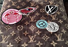 """A+brand+new+LV+VIP+""""WORLD+TOUR""""+fleece+blanket/throw.+All+over+LV+logo.+Signature+""""world+tour""""+patches+just+like+the+handbag.+Makes+a+great+addition+to+any+room+in+the+house.+Super+luxurious!!+Measures+50x60.+  +**ON+SALE+THIS+WEEK+ONLY***"""