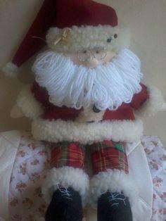 Meninas, Estes são os moldes e o PAP do Papai Noel que ensinei no programa Mulher.com. Quero ver o de vocês como vai ficar!!! ...
