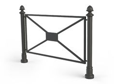 Cast iron fence belongs to the RETRO style line of ZANO projects