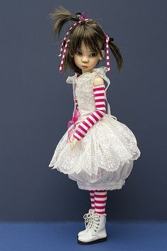 jeanoak dolls | Kaye Wiggs Miki in Lililace by jeanoak, via Flickr | dolls and toys
