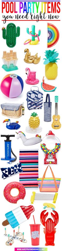 Are you throwing a pool party? You need to check out this list of the most amazing pool floats, coolers, towels, and more of your pool party MUST HAVE ITEMS! Holiday Gift Guide, Holiday Gifts, Simple Baby Shower, Camping Style, Pool Floats, California Dreamin', Beach Pool, Coolers, 4th Of July