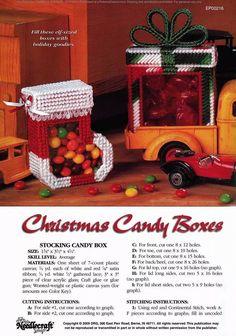 XMAS CANDY TREAT BOX 3/5