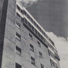 Bloque de vivendas na rúa Gondomar   Alejandro de la Sota   Pontevedra (1972)