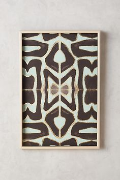 Anthropologie Jade Expression Wall Art