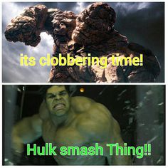Hulk vs Thing
