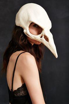 High Noon Creations Bird Skull Mask
